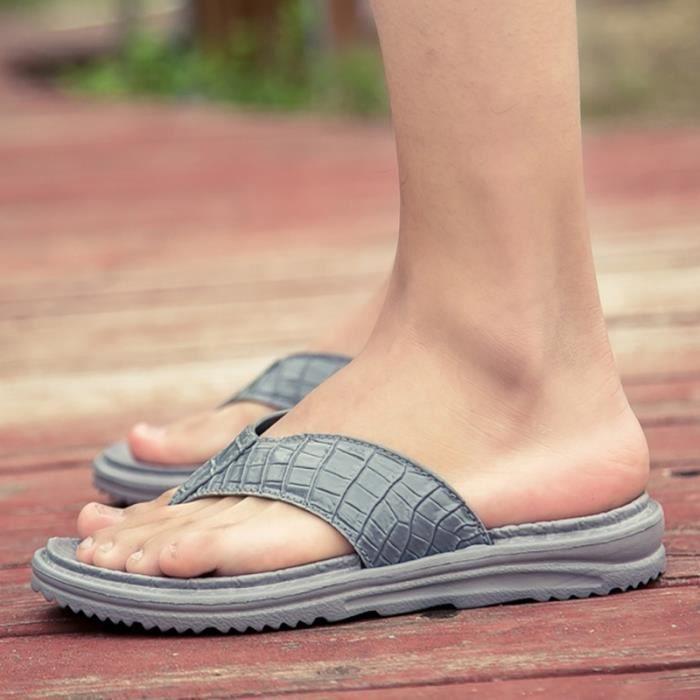 Plage britannique Simple Skid-résistance hommes Chaussures