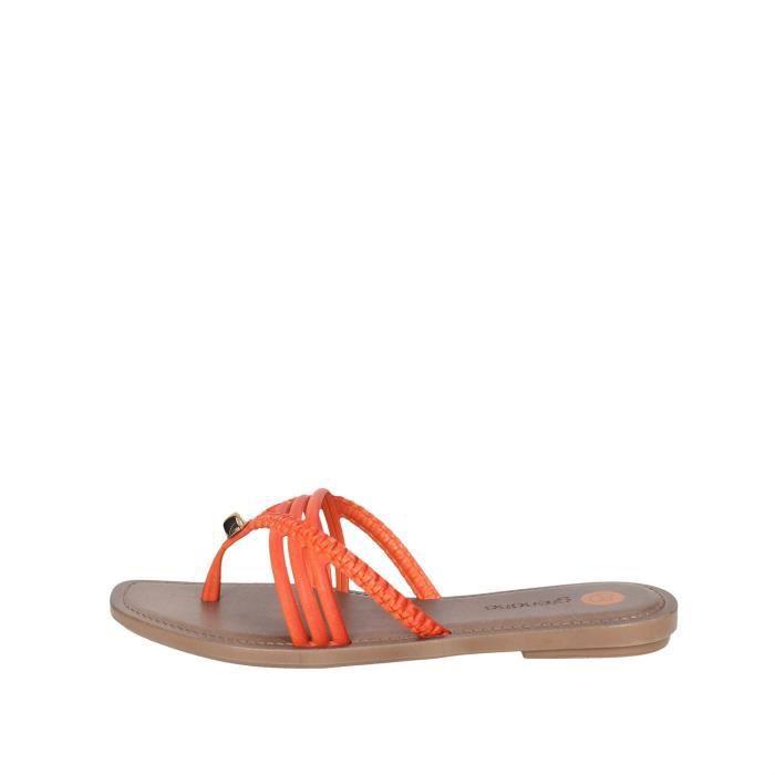 Grendha Tongs Femme Orange, 41/2