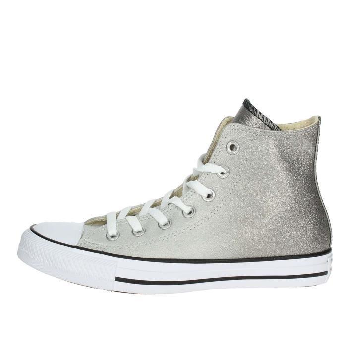 Vente Sneakers Converse Haute Gris36 Gris Femme Achat fgIy7Yvb6