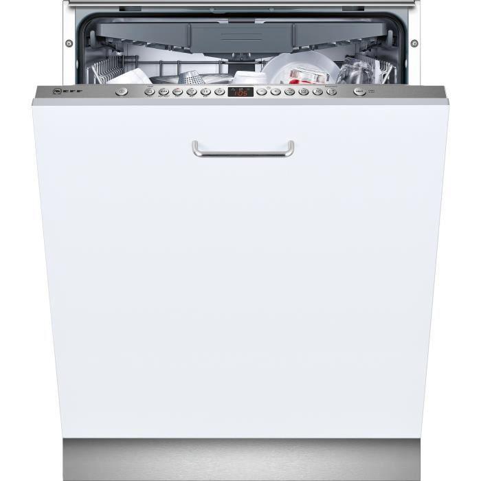 Neff s413i60b3e lave vaisselle integrable lave vaiselle - Lave vaisselle semi integrable ...