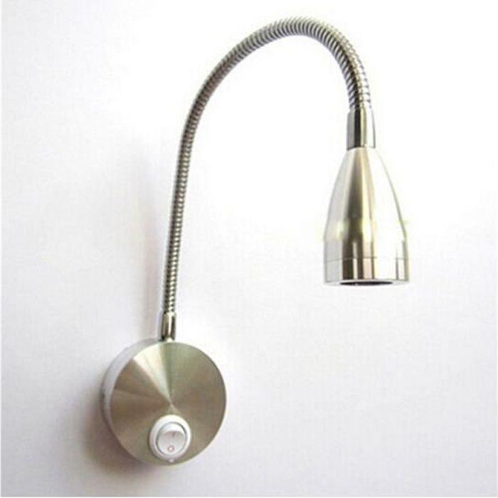 1 Pcs 360 Degres Lampe De Bureau Led Applique Murale Flexible Lampe