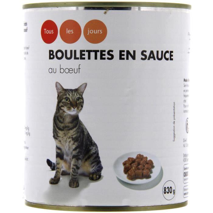 Boulettes En Sauce Au Bœuf Pour Chat - 415 G