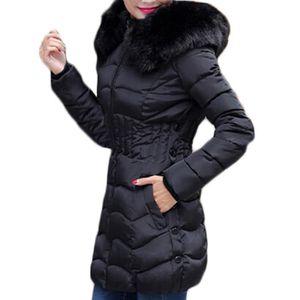 8a4e65ef0e229 ... MANTEAU - CABAN ZANZEA Manteau Femmes Mode Décontractés Capuche Sl ...