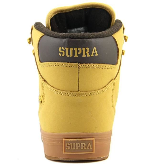 Supra Vaider Cold Weather Hommes US 9 Beige Chaussure de Basket