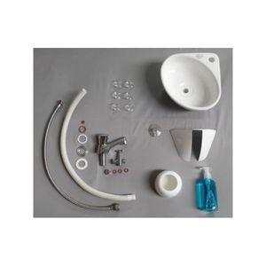 wc avec lave main achat vente wc avec lave main pas cher cdiscount. Black Bedroom Furniture Sets. Home Design Ideas
