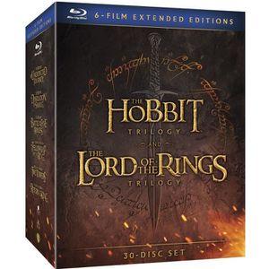 DVD FILM Blu-ray Le Hobbit et Le Seigneur des Anneaux, les