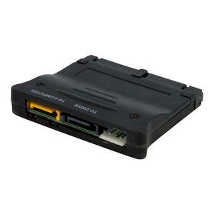 STARTECH Adaptateur SATA IDE bidirectionnel pour disque dur / lecteur optique - Convertisseur SATA IDE - Noir