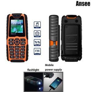 Téléphone portable Etanche Téléphone mobile Xiaocai X6 1,77 pouces Po