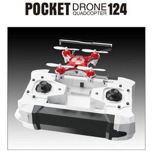 DRONE Lafayestore®FQ777-124 Micro Drone de poche 4CH 6Ax