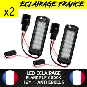 PHARES - OPTIQUES LED PLAQUE IMMATRICULATION VW GOLF 4 5 6 7 GTI GTD