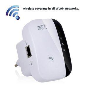 MODEM - ROUTEUR Amplificateurs de signal de 300Mbps Répéteur Wifi