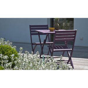 Salon de jardin violet - Achat / Vente Salon de jardin violet pas ...