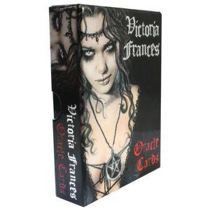LIVRE RELIGION Victoria Frances Oracles Cards - Oracle de Victori