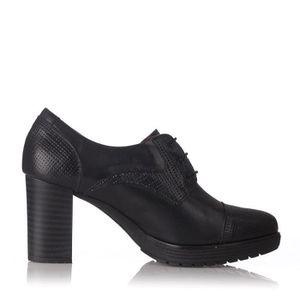 DERBY Chaussures Derby 1285 PIEL Noir - Color - Noir