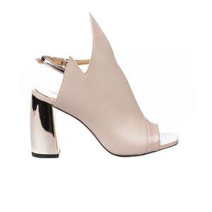 code promo 41a4a 9df5e Nu pieds femme - STYME - Rose poudre - SG4005 - Millim Rose ...