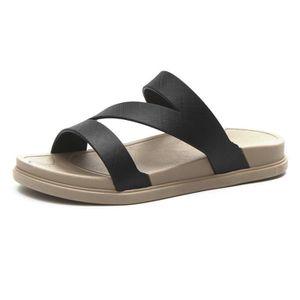 TONG Ladies Summer Beach Bath Slippers Sandales compens