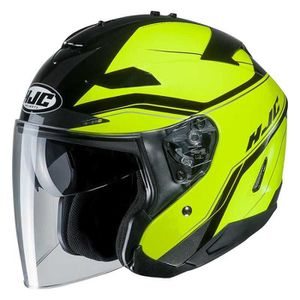 CASQUE MOTO SCOOTER Protections Casques Hjc Is-33 Ii Korba