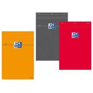 BLOC NOTE OXFORD Bloc-notes - Petits carreaux - 160 pages -