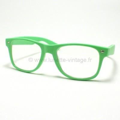 Fausse Lunettes de vue Verte Vert - Achat   Vente lunettes de vue ... abc24ebf7aad