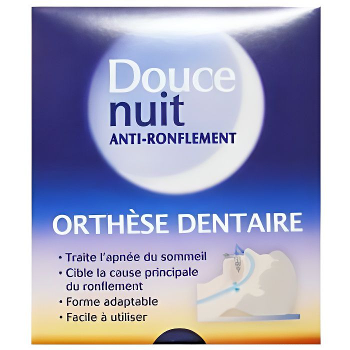 Douce nuit anti ronflement orthese dentaire achat vente anti ronflement d - Douce nuit ronflement ...