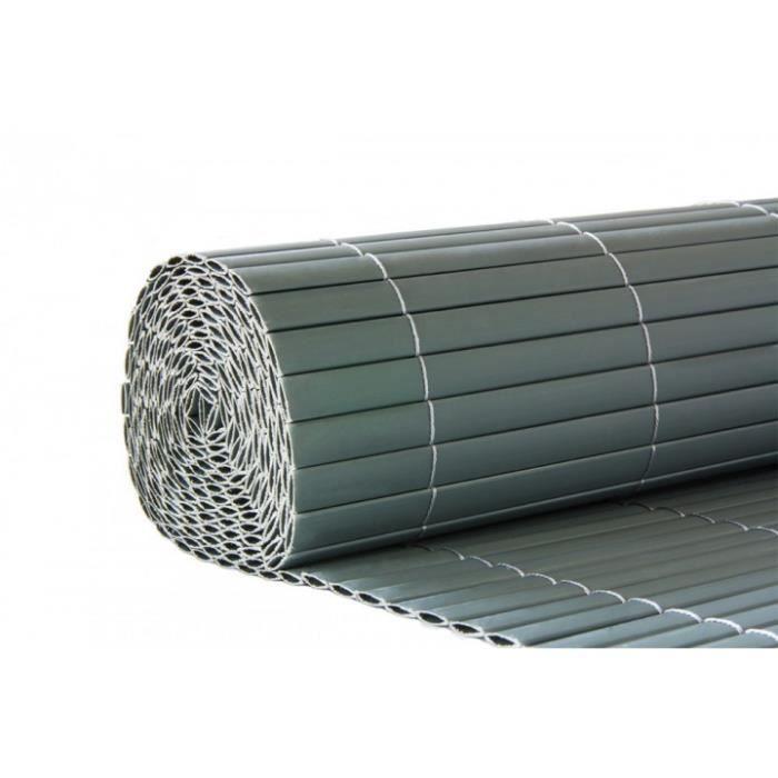 Brise-vue pour jardin en PVC couleur Gris - Achat / Vente clôture ...