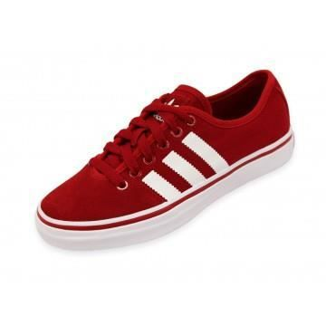 Adria Adidas Vente W Achat Chaussures Low Femme Rouge 1TFclKJu3