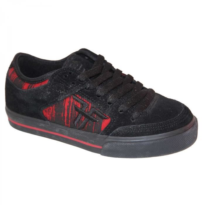 samples shoes FALLEN RIPPER BLACK RED DRIPS KIDS / ENFANTS