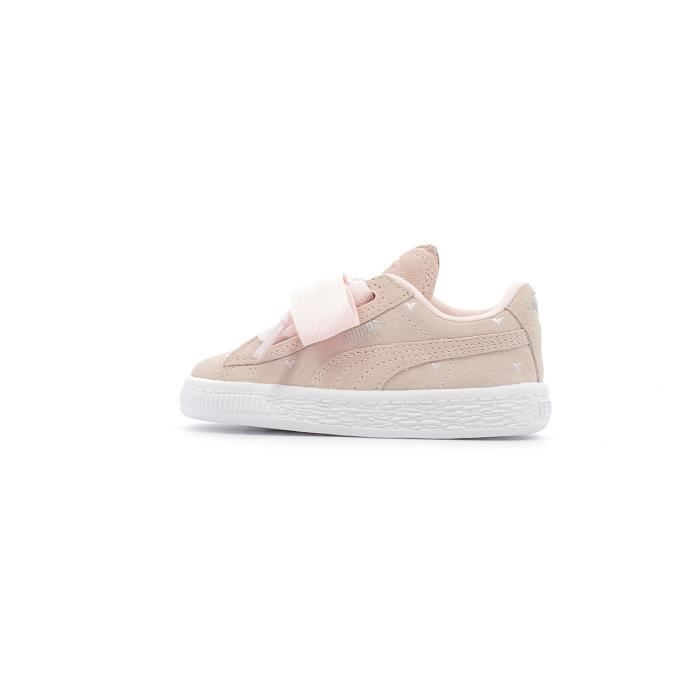 Baskets basses Puma Inf Suede Heart Valentine Kids