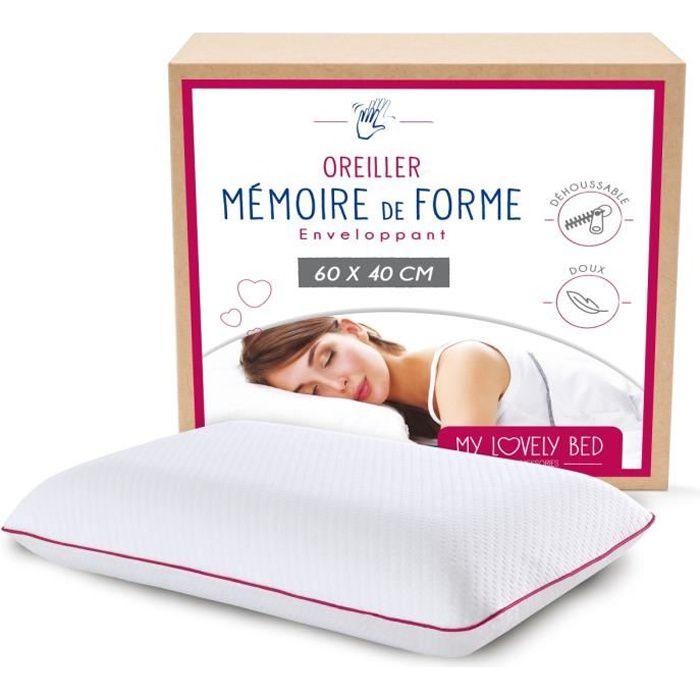 OREILLER My Lovely Bed - Oreiller à Mémoire de Forme 60x40
