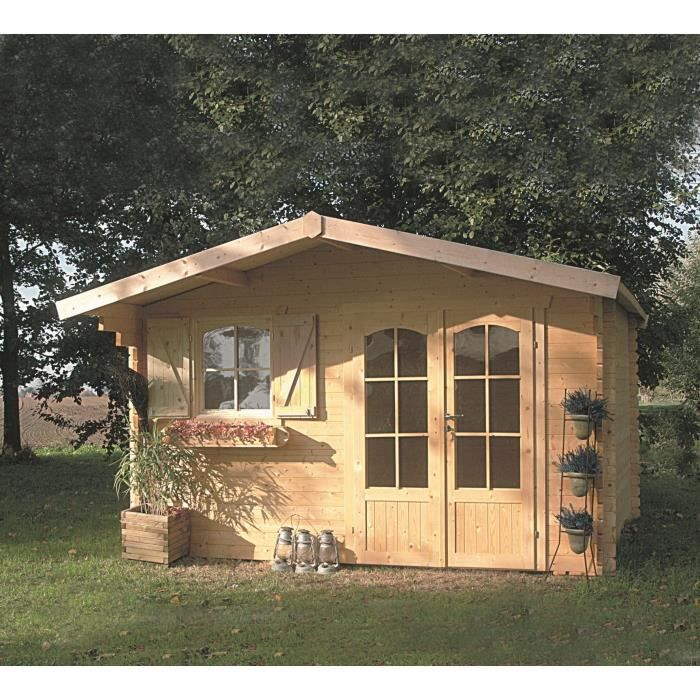 Solid abri de jardin chamonix 388x328cm achat vente for Abris de jardin solid belgique