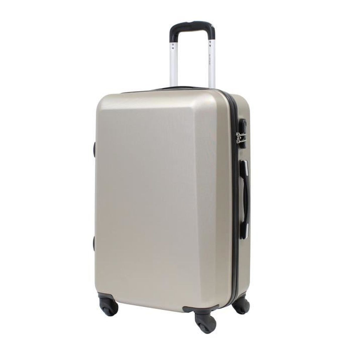 """VALISE - BAGAGE Valise Moyenne 65cm - ALISTAIR """"Pure"""" - ABS Ultra"""
