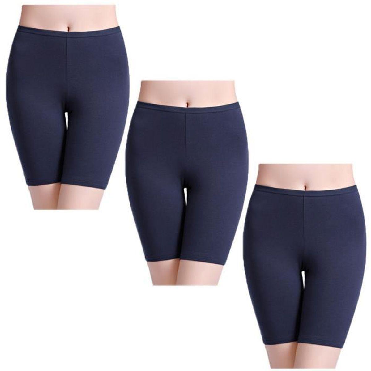 c4acb32325 Panty Coton Cycliste Shorty Femme Long Culottes Boxer Short Legging ...