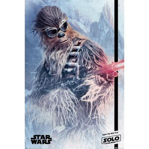 AFFICHE - POSTER Poster Star Wars - Solo: A Star Wars Story, Chewie