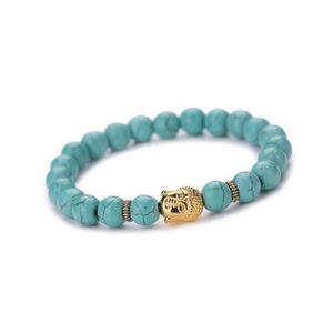 BRACELET - GOURMETTE Bracelet Bouddha Elastique Bracelet Perlé Chaîne B