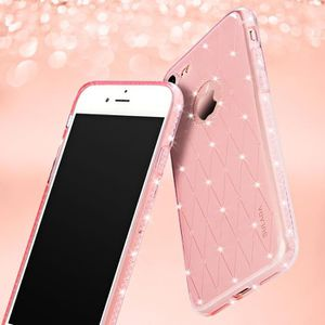 coque iphone 7 silicone strass