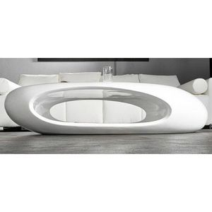 Blanc Laqué Vente Achat Design Ii Basse Galet Table WH2IYED9