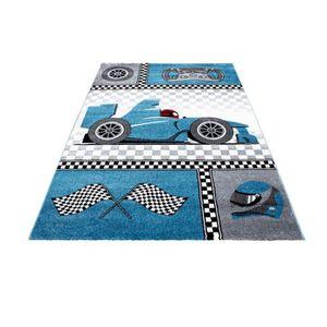 TAPIS Crèche Tapis avec des motifs de Formule 1, voiture