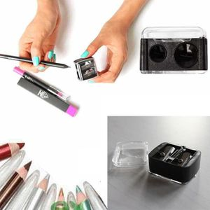 PINCEAUX DE MAQUILLAGE Nouveau taille-crayon cosmétique de précision pour