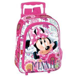 CARTABLE Sac à dos à roulettes maternelle Minnie Cutie 37 C