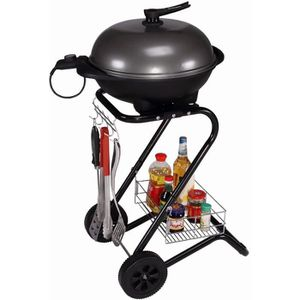 BARBECUE DE TABLE Barbecue électrique paname 1400w-1600w 98x46x58cm