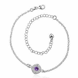 CHAINE DE CHEVILLE Bracelet de cheville Argenté argent sterling 925 B