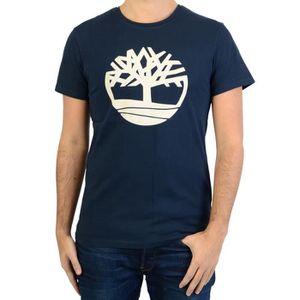 T-SHIRT Tee-Shirt Timberland SS Brand Tree Lin XXL Bleu