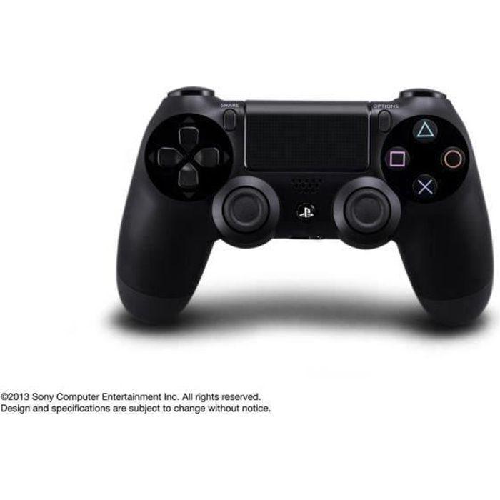 MANETTE CONSOLE Manette de Jeu DualShock 4 Noir PS4