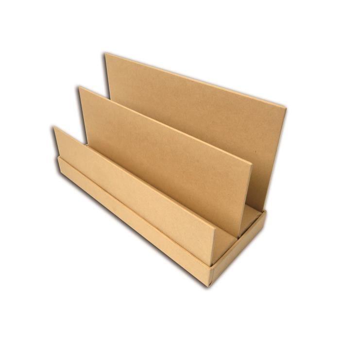 D.I.Y with Toga Range courrier à décorer - kraft - 25,5x10cm