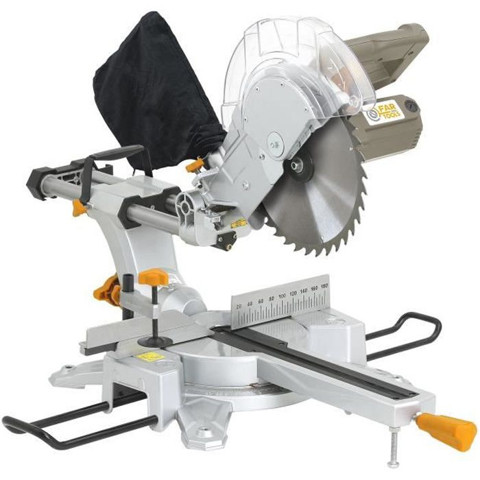 FAR TOOLS Scie à onglet radiale ONE JOS255C - 250 mm - 2000 W