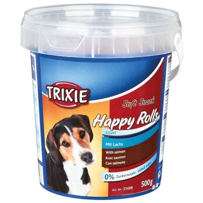 TRIXIE Soft Snack Happy Rolls 500 g pour chien