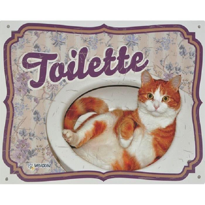 VADIGRAN Panneau Toilette FR - Pour chat