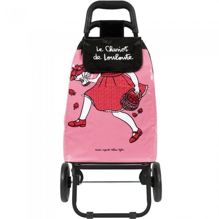 chariot de courses enfant le chariot de loulout achat vente sac shopping 3662034006983. Black Bedroom Furniture Sets. Home Design Ideas