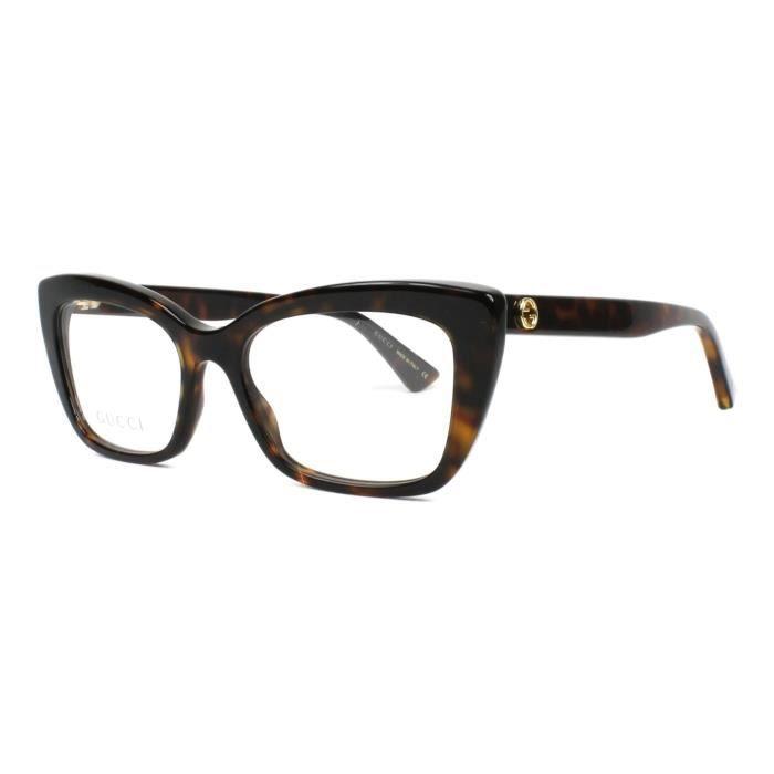 378e62fcfb1c71 Lunettes de vue Gucci GG-0165-O -002 - Achat   Vente lunettes de vue ...