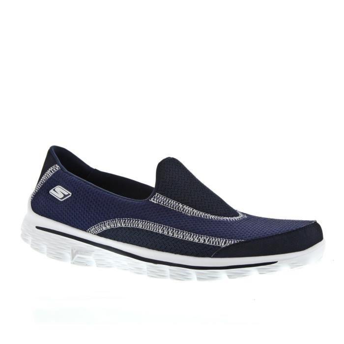 3dea4ea0f9e Go walk 2 Skechers marine Bleu bleu - Achat   Vente basket - Cdiscount
